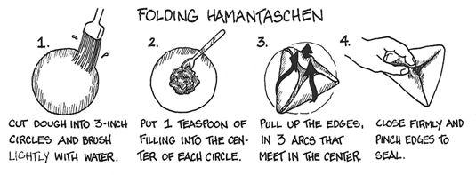 ���� - Um deleite Purim: Semente da papoila Hamantaschen