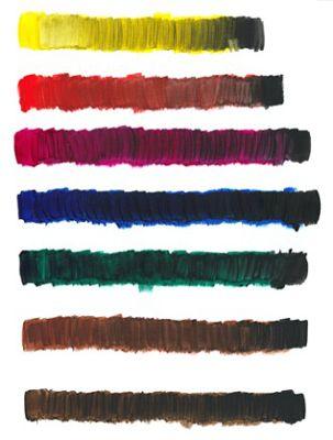 ���� - Como escurecer as cores de tinta acrílica pelo sombreamento