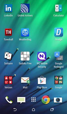 ���� - Adicionando um aplicativo de segurança para o seu HTC One (M8)