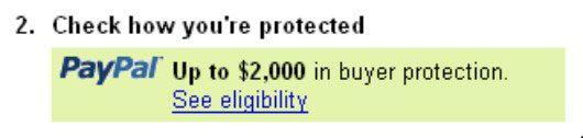 ���� - Comprar de vendedores com PayPal Buyer Protection