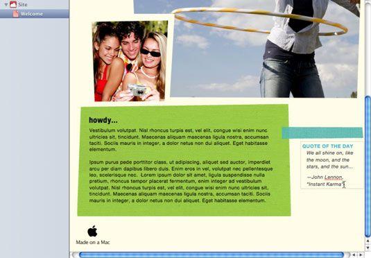 Clique em e, em seguida, digite sobre o bloco de texto para alterar o texto.