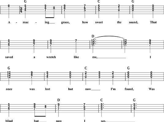 ���� - Chord Soloing: Amazing Grace