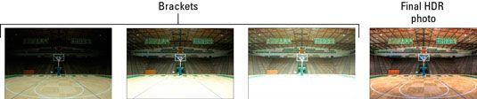 ���� - Compare Controles de câmera para a fotografia HDR