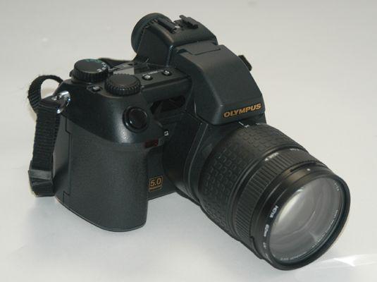 ���� - Comparando-se os tamanhos de tipos de câmeras digitais