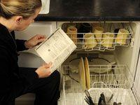 O fabricante sabe empilhar a louça de forma eficiente, de modo a ter esse conselho.