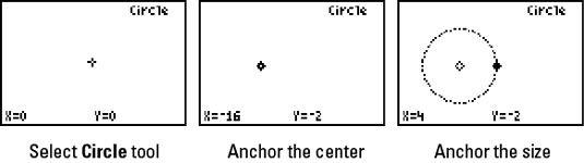 ���� - Construir Círculos com Geomaster na TI-84 Plus