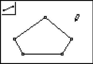 ���� - Construir polígonos em Cabri Jr. na TI-84 Plus