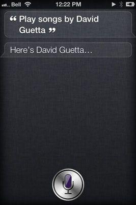 ���� - Controlando a sua música com Siri