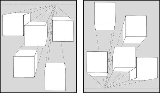 ���� - Desenho em perspectiva geométrica