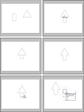 ���� - Desenho com ferramentas de layout Vector