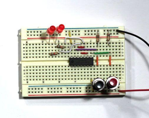 ���� - Projetos Eletrônica: Como construir um circuito de trinco