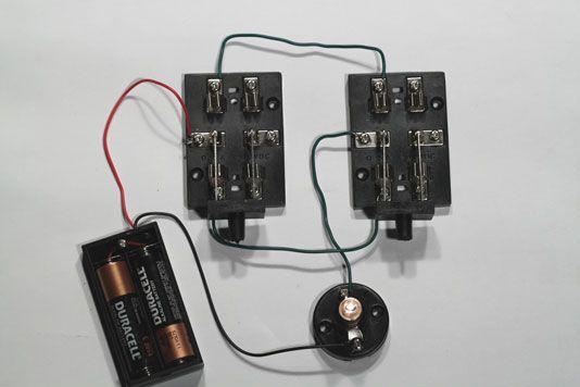 ���� - Projetos Eletrônica: Como construir um interruptor de três Way Lamp