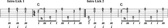 ���� - Bluegrass Essencial Banjo inícios e finais
