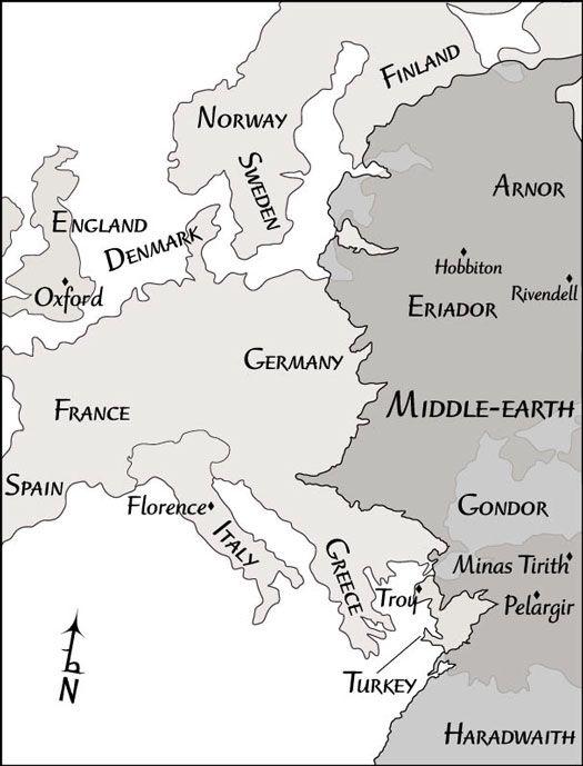 ���� - Explorando as Terras diversas da Terra-média