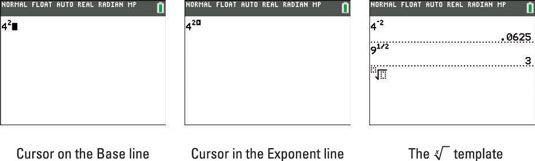 ���� - Expoentes e raízes na calculadora TI-84 Plus