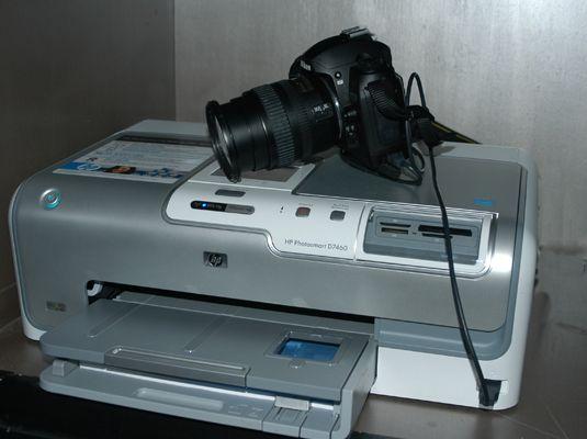 ���� - Encontrar uma impressora que não precisa de acesso a um computador para imprimir as suas imagens digitais