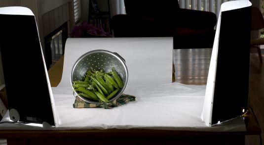 ���� - Colocar luzes de Fotografia Food