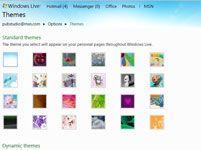 ���� - Para Idosos: aplicar um design Tema para Windows Live
