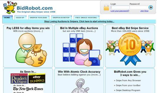 ���� - Para Idosos: Como automatizar seus lances Snipe em um leilão eBay