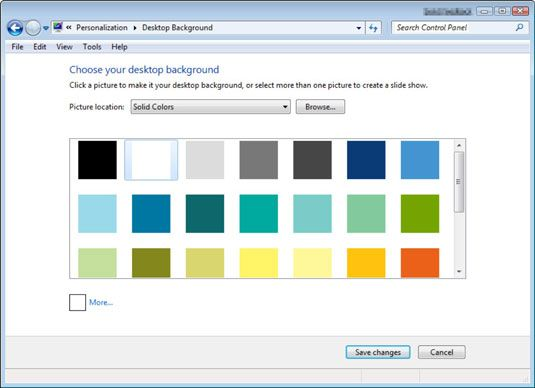 ���� - Para Idosos: Como alterar o seu fundo desktop do computador
