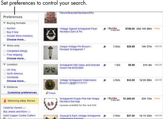 ���� - Para Idosos: Como expandir ou encolher uma pesquisa eBay