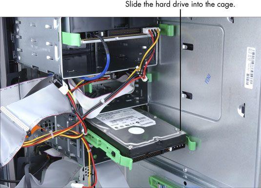 ���� - Para Idosos: Como instalar um disco rígido interno em seu computador