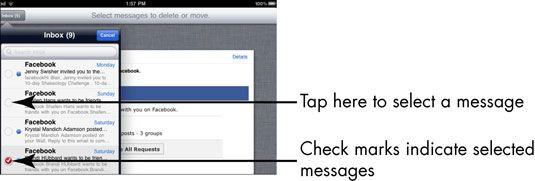 ���� - Para Idosos: Como Organizar iPad 2 E-mail