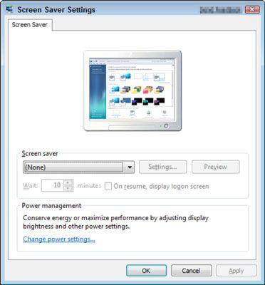 ���� - Para Idosos: Como configurar uma proteção de tela para o computador