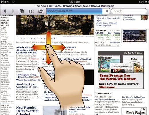 ���� - Para Idosos: Use um tablet touchscreen e teclado