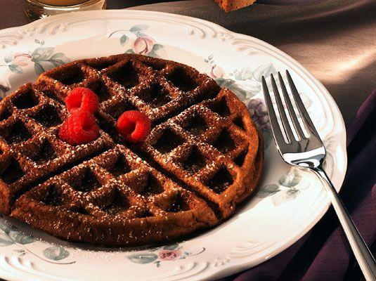 ���� - Sem glúten Waffles abóbora