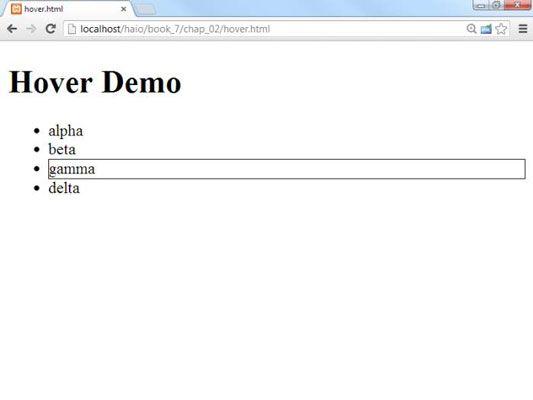 ���� - Como adicionar eventos para jQuery objetos para HTML5 e CSS3 Programação