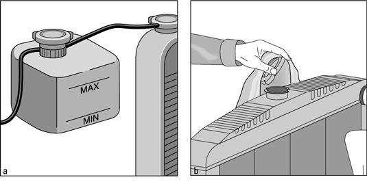 ���� - Como adicionar líquido para um sistema de refrigeração de recuperação