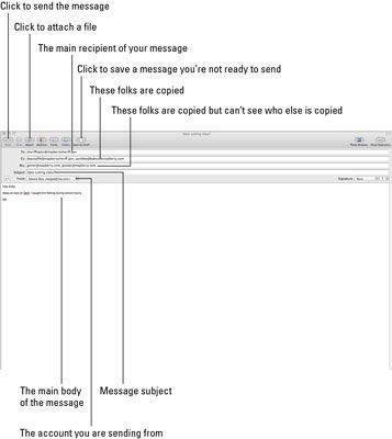 ���� - Como adicionar artigos de papelaria para o seu Mac e-mails