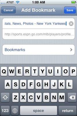 ���� - Como Marcar Sites da Web em seu iPhone