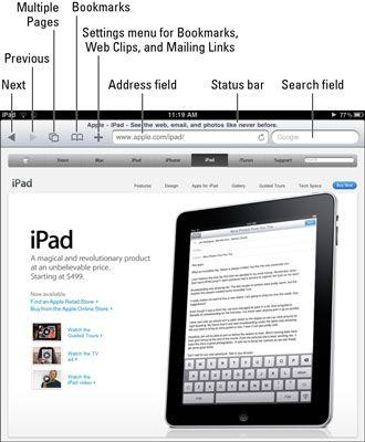 ���� - Como navegar na Internet no seu iPad