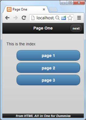 ���� - Como construir um móvel documento de várias páginas em HTML5 e CSS3 Programação