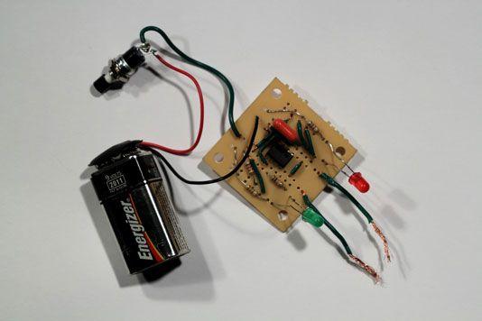 ���� - Como construir um Coin Toss-circuito eletrônico