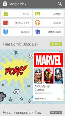 ���� - Como comprar conteúdo digital a partir do Google Play Store no seu Galaxy S6