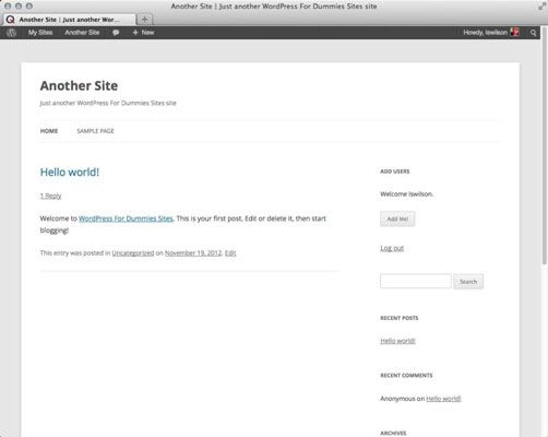 ���� - Como alterar padrões na sua rede WordPress