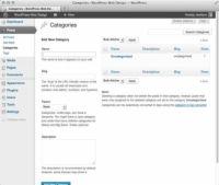 ���� - Como alterar o nome de uma categoria WordPress