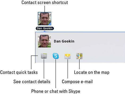 ���� - Como criar um atalho de contacto do ecrã do Galaxy Tab