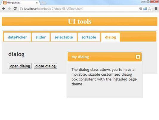 ���� - Como criar uma caixa de diálogo personalizada em AJAX para HTML5 e CSS3 Programação
