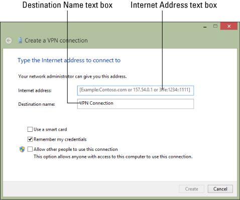 ���� - Como criar uma conexão VPN no Windows 8