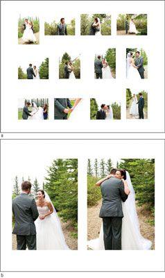 ���� - Como criar um álbum de fotografia de casamento