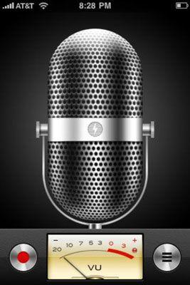 ���� - Como criar e compartilhar memórias de voz em seu iPhone 4