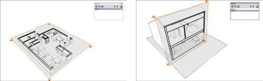 ���� - Como criar Seção animações com cenas em Google SketchUp 8