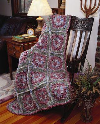 ���� - Como Crochet um motivo afegão