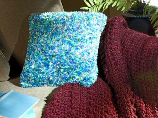 ���� - Como Crochet um descanso com Boa Yarn