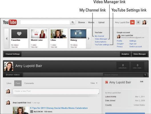 ���� - Como para personalizar as configurações do YouTube para Segurança