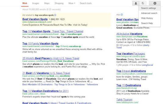 ���� - Como desativar a personalização Search Engine da sua família